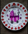 pretty little plates