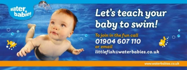 Water Babies swim school hull