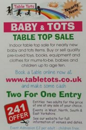 table tots 2for1 use