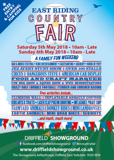 east riding country fair driffield showground
