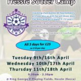 hessle soccer camps easter school holiday football camps 2019