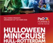 P&O hull rotterdam ferry