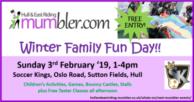 hull mumbler family fun day winter 2019