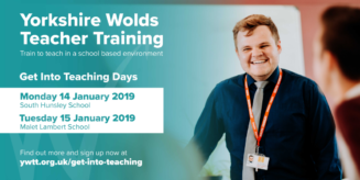 get into teaching yorkshire wolds teacher training