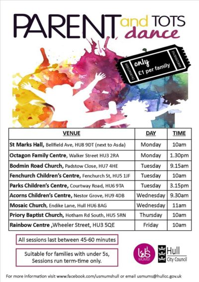 parent and tots dance classes hull