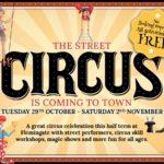 Flemingate Circus Activities October 2019 half term