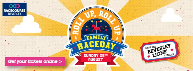 beverley racecourse family raceday circus