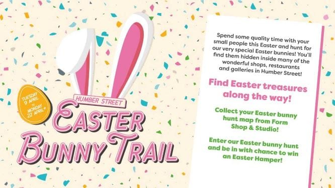 humber street hull easter bunny trail