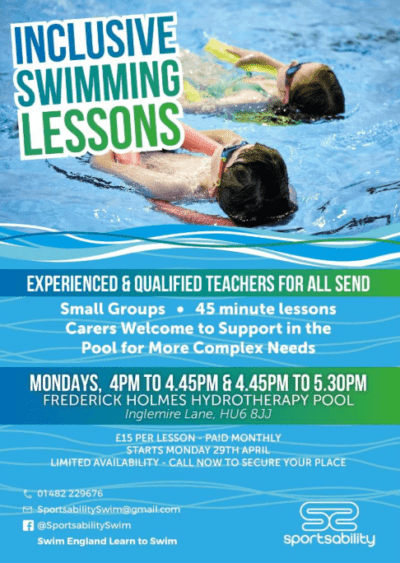 sportsability swim school send classes