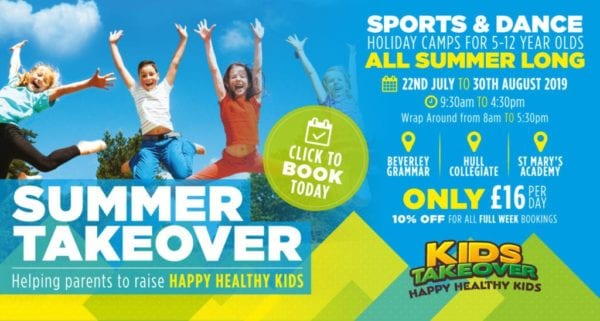 kids takeover summer 2019