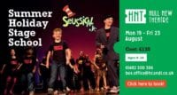 Hull New theatre summer workshops