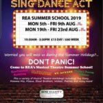 REA Summer 2019 workshops