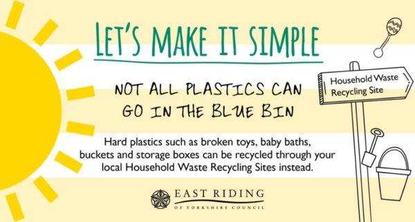 east riding council waste advert plastics
