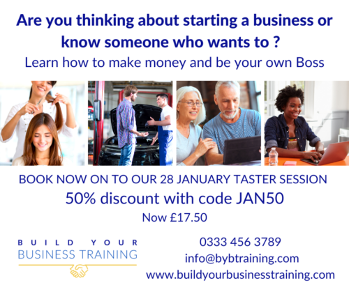 build your business training jan taster ad