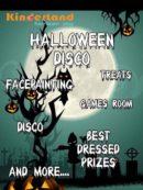 kinderland halloween disco