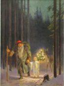 northwood trail fairy sanctuary york, christmas event