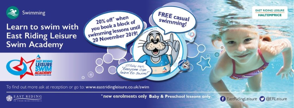 hatemprice swimming lessons east riding leisure