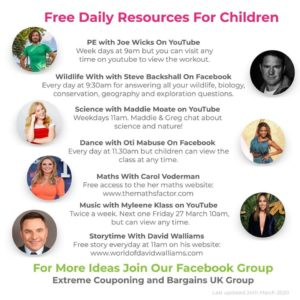 celebrity online kids educational resources
