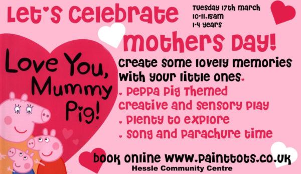 paint tots mothers day