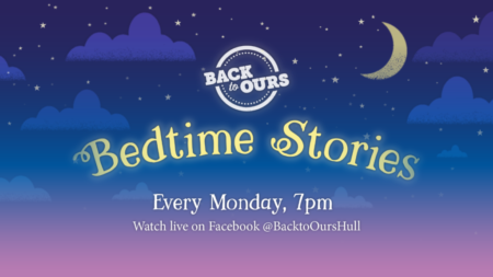 back to ours right on your sofa, bedtime stories online in Hull