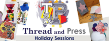 THread and Press summer holiday club