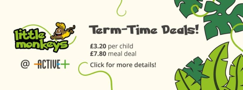 active plus term time meal deals Little Monkeys soft play centre Hull