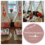the beverley sleepover company, hire tepees for parties in east yorkshire