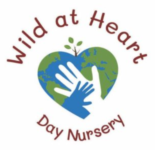 wild at heart day nursery in driffield, east riding of yorkshire. Logo