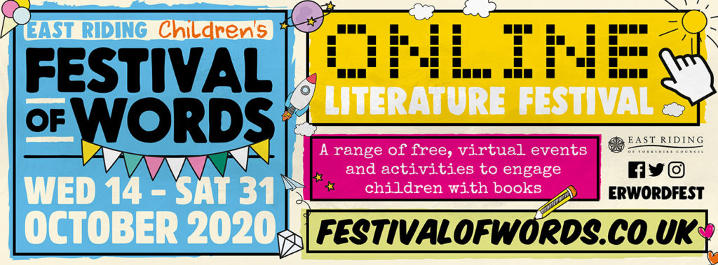 festival of words childrens literature festival, online for October 2020