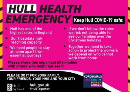 hull health emergency covid 19