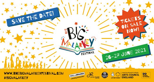 the big malarkey, childrens literature festival in hull