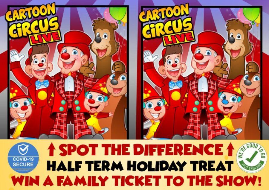 cartoon circus live, family show bevreley and cottingham