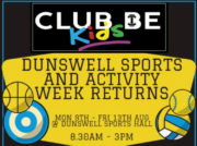 club be dunswell sports camp 2021