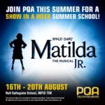 PQA Hull & PQA Beverley present MATALIDA JR (show in a week) summer school