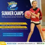 leeds rhinos netball summer camp at bishop burton